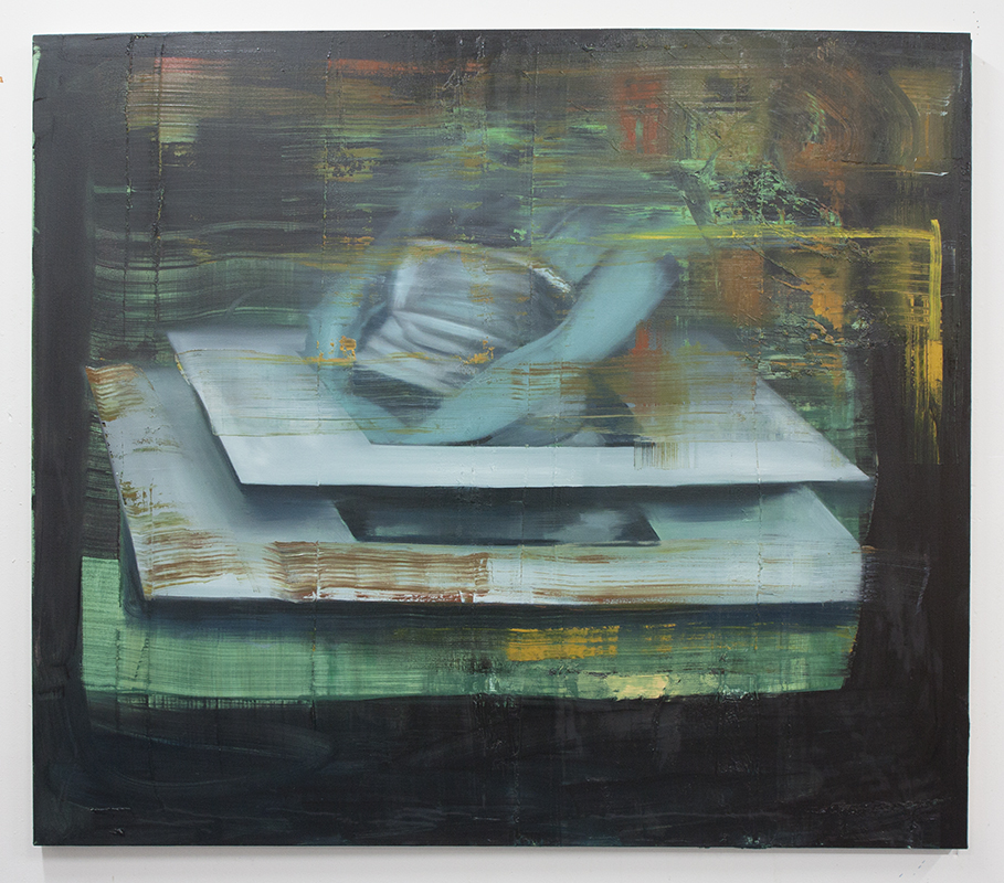 Acephalous, bartosz beda paintings 2014