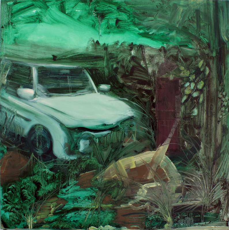 Artefacts of the Landscape, bartosz beda paintings 2012