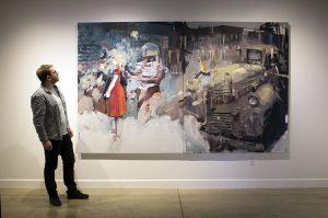 bartosz beda, paintings 2016, artist
