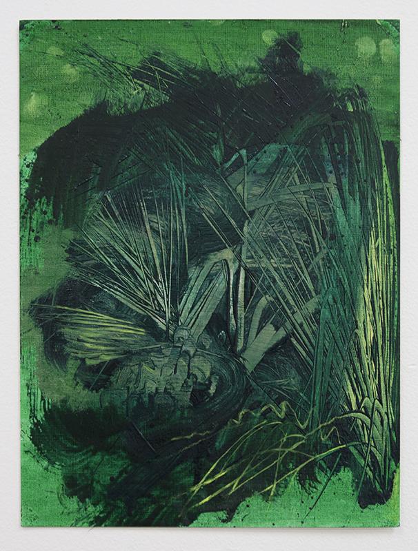 Bush II, bartosz beda paintings 2014