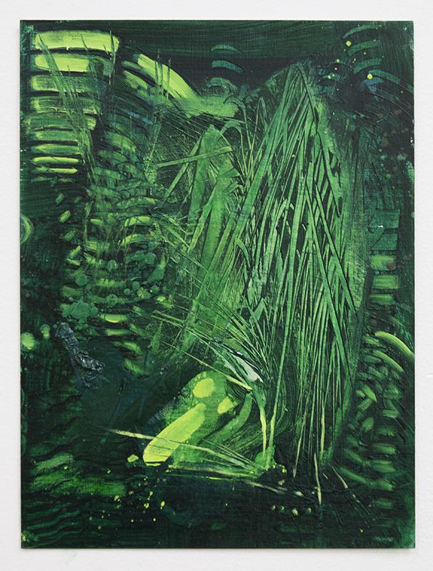 Art by Bartosz Beda, Bush VII, painting
