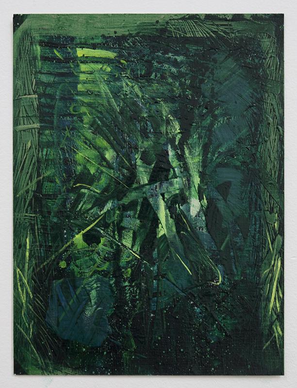 Bush VIII, bartosz beda paintings 2014