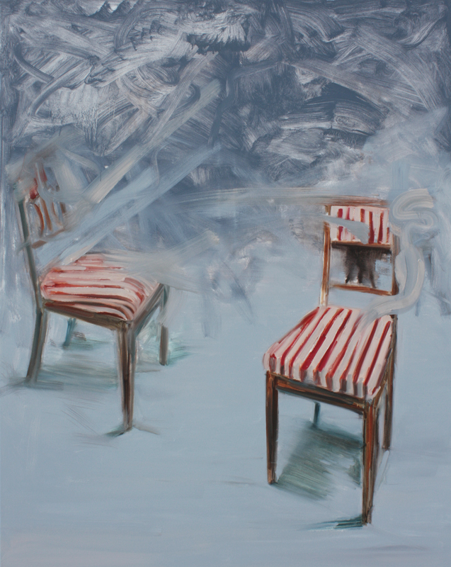 Conflict, bartosz beda paintings 2012