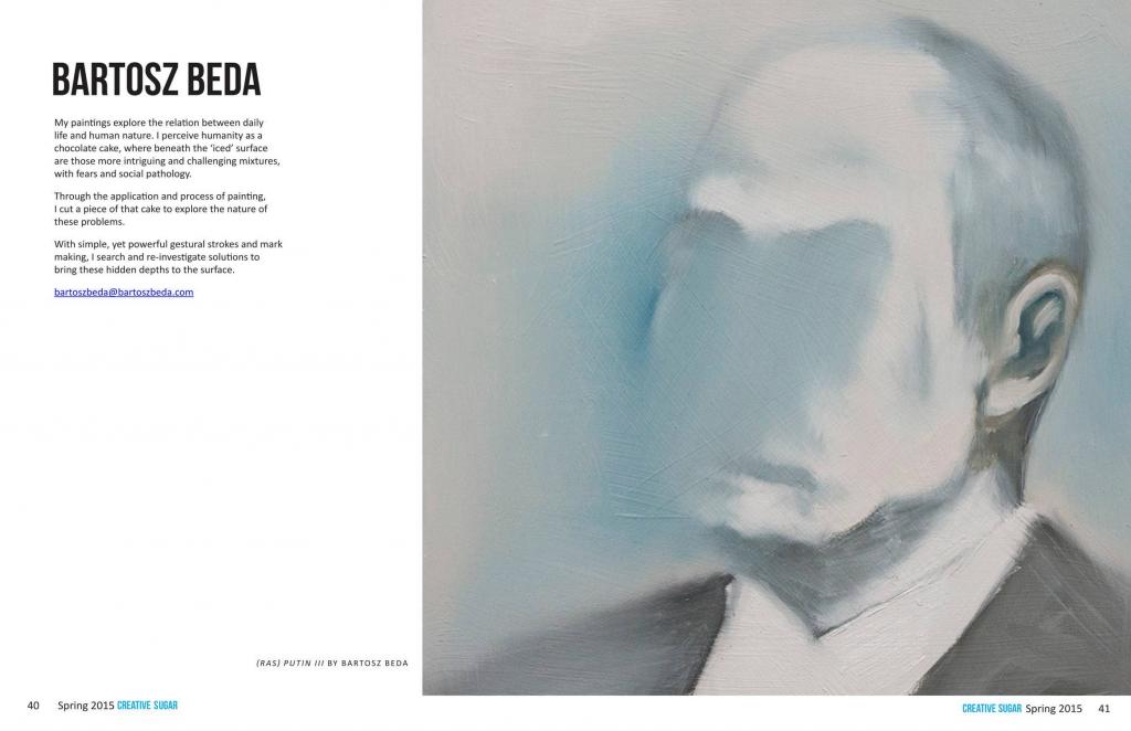 Creative Sugar Magazine featured Bartosz Beda