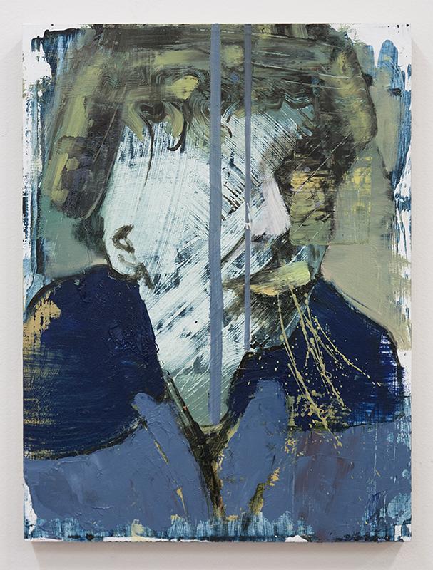 Crooked III, bartosz beda paintings 2014