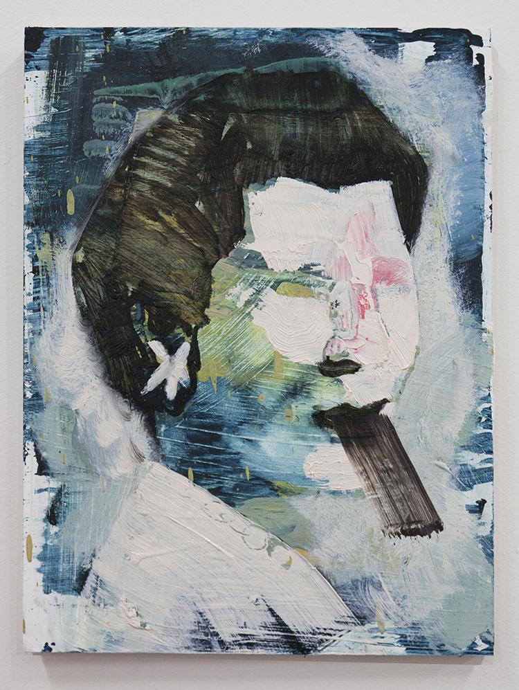 Crooked, bartosz beda paintings 2014