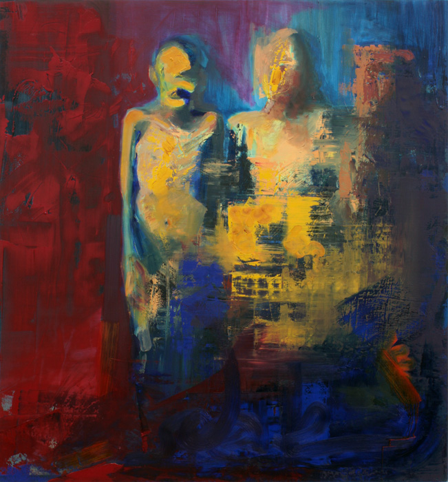 people, paintings, bartosz beda paintings 2012