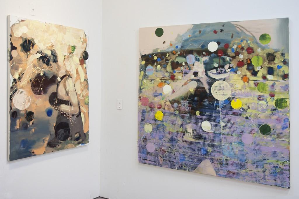 Bartosz Beda, paintings, artworks