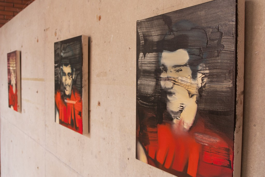 Revision of Displacement, solo exhibition by Bartosz Beda, paintings