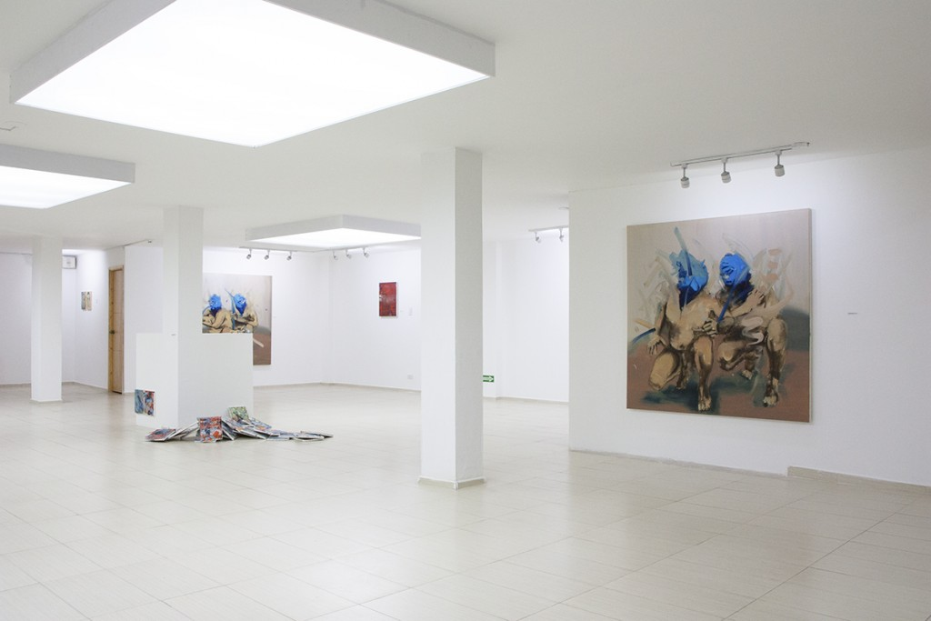 Solo Exhibition in Bogota, Colombia, 2014, paintings