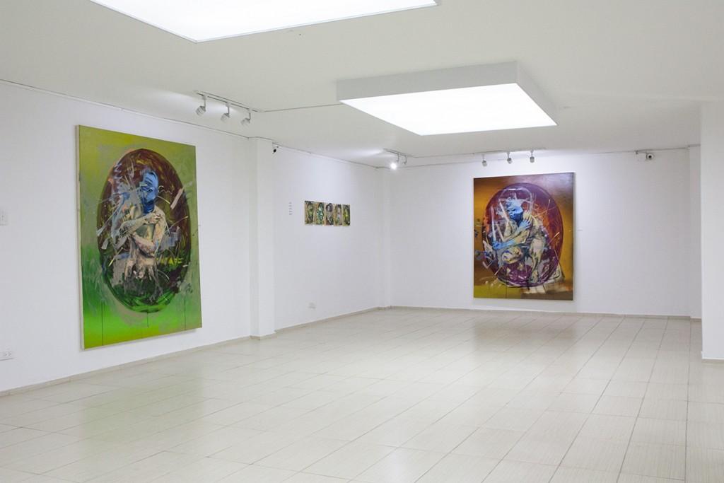 Solo Exhibition in Bogota, Colombia, 2014