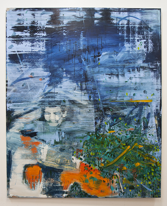 Temptation III, bartosz beda paintings 2014