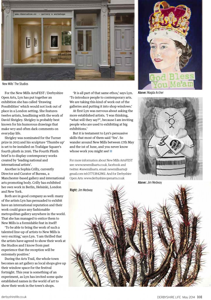 Derbyshire Life Magazine featured Bartosz Beda
