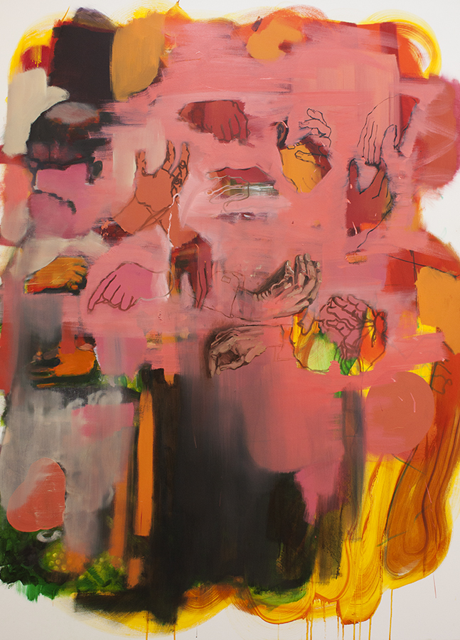 europa, bartosz beda, paintings 2016