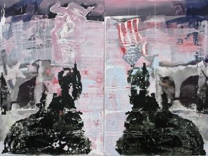 Neither Brothers, Neither Twins, bartosz beda, paintings 2016