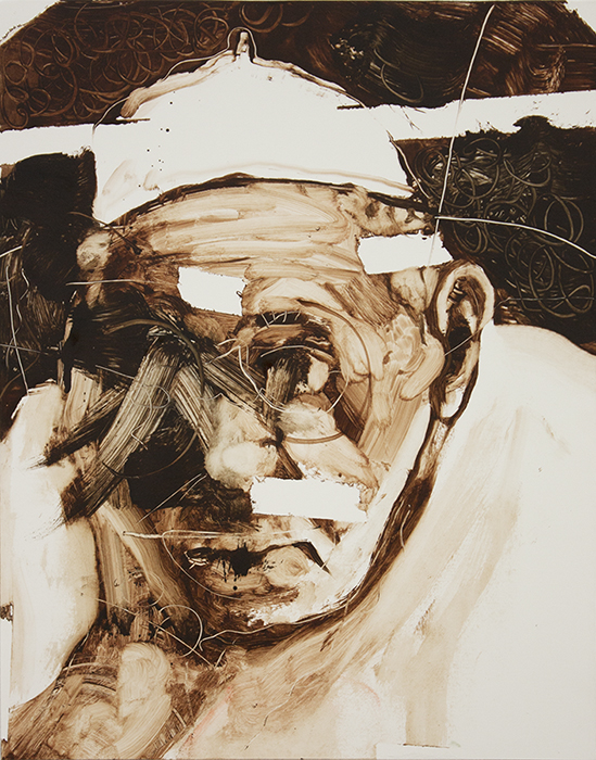 pope I, bartosz beda, paintings 2016