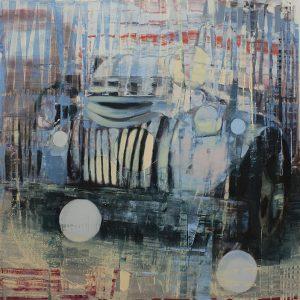 Recollections II, bartosz beda, paintings 2016