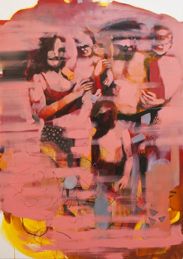 vacation, bartosz beda, paintings 2016