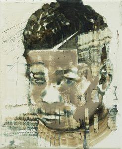Bad Boys Have a Nice Haircut IV, 2017, bartosz beda, paintings, artist