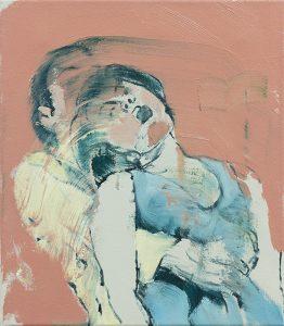 Heimlich Maneuver (Red) I, 2017, bartosz beda, paintings, artist