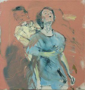 Heimlich Maneuver (Red) II, 2017, bartosz beda, paintings, artist