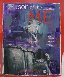 Person of the year,, paintings 2017, bartosz beda, beda art, beda paintings, bartoszbeda artist